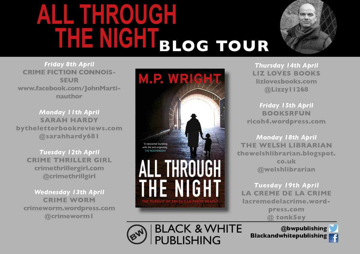 All Through the Night by M P Wright